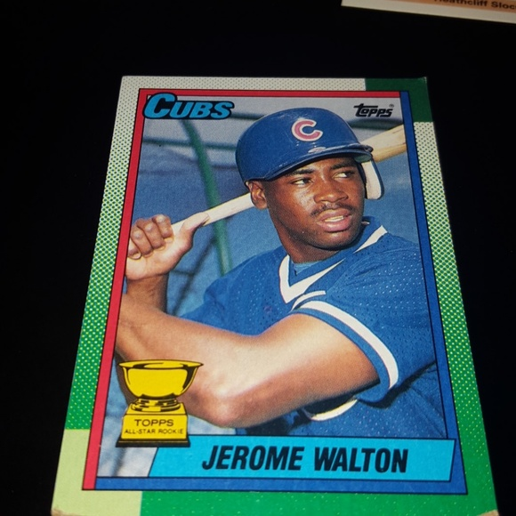 Chicago Cubs 1986 Jerome Walton Baseball Card